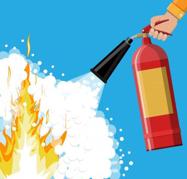 Cara menggunakan Apar fire extinguisher